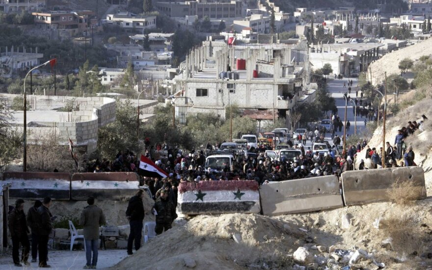 Sirijos Rytų Gutoje paskelbtos paliaubos, sako Rusija