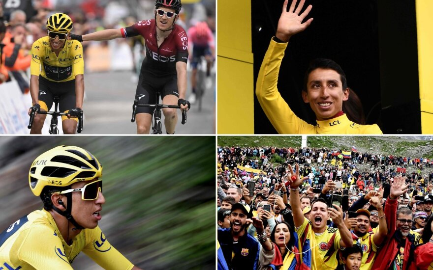 "Bernalis – per žingsnį nuo ""Tour de France"" čempiono titulo"