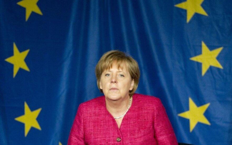 Latvijoje lankysis A. Merkel