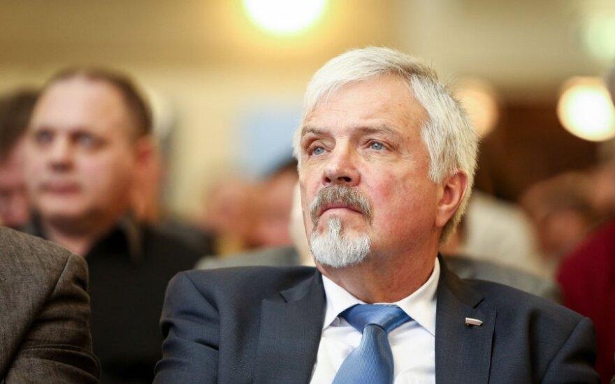Seimo aplinkos apsaugos komiteto narys Raimundas Paliukas