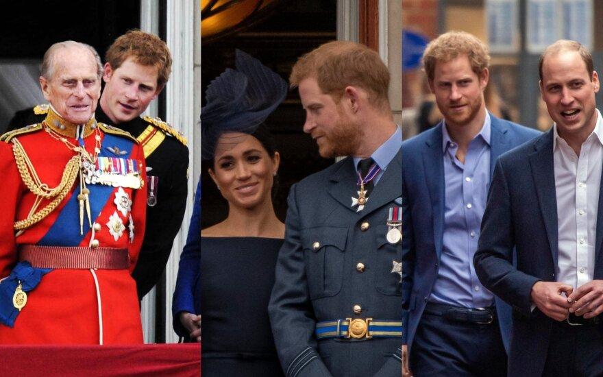 Paaiškėja, kokią aprangą per princo Philipo laidotuves vilkės princas Harry