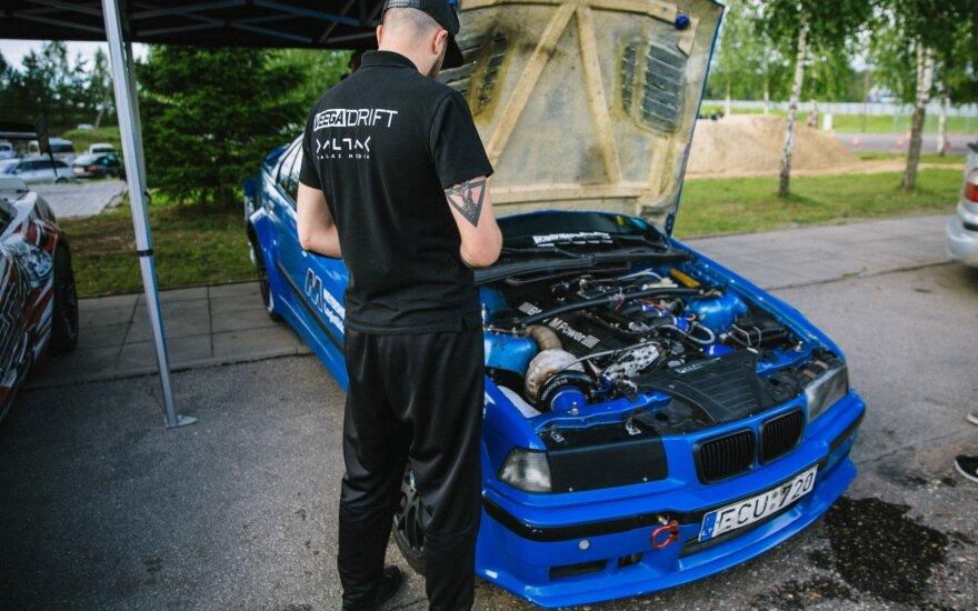 Vygandas Rimkus ir jo pasiruošimas Lietuvos drifto čempionatui