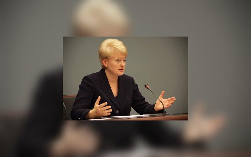 S.Kairys. D.Grybauskaitė: ar darbai svarbiau už žodžius?