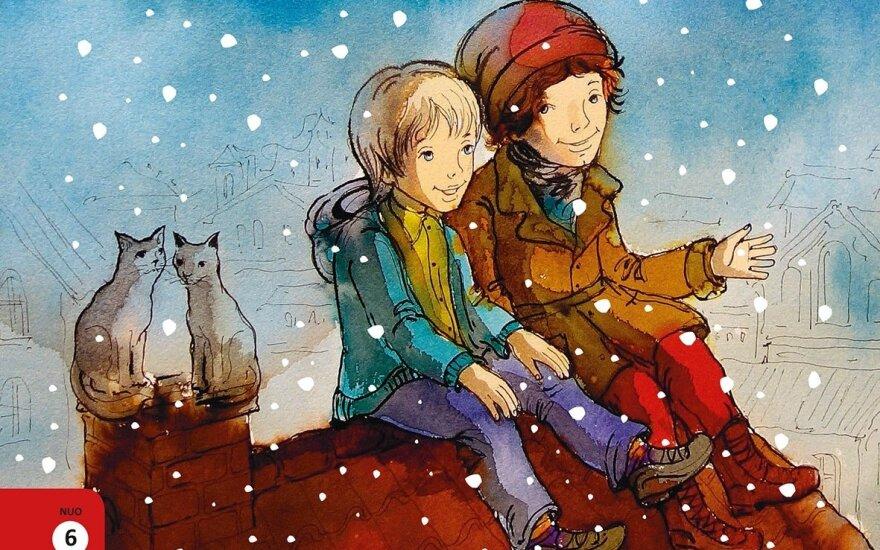 Nauja Rebekos Unos knyga – kalėdinė istorija apie Pijų, Nikolą, draugystę ir dalijimąsi