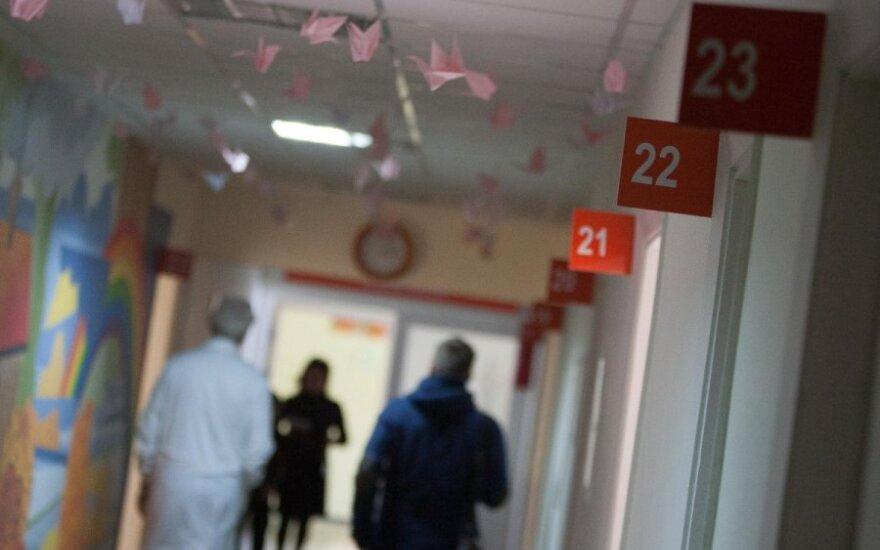 Dėl koronaviruso Klaipėdoje gydomai pacientei bus daromas pakartotinis testas