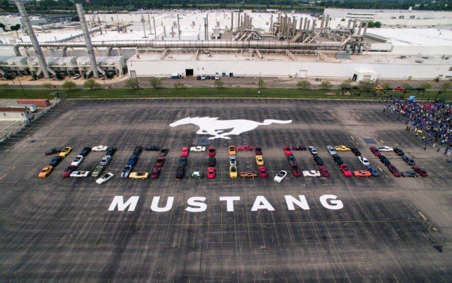 """""""Ford"""" pagamino 10 mln. """"Mustang"""""""