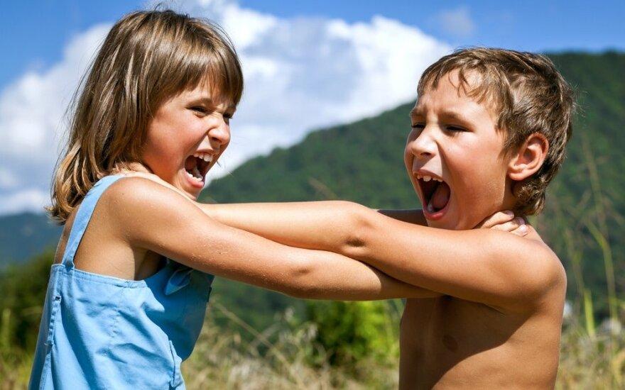 Kaip teisingai reaguoti į vaikų ginčus?