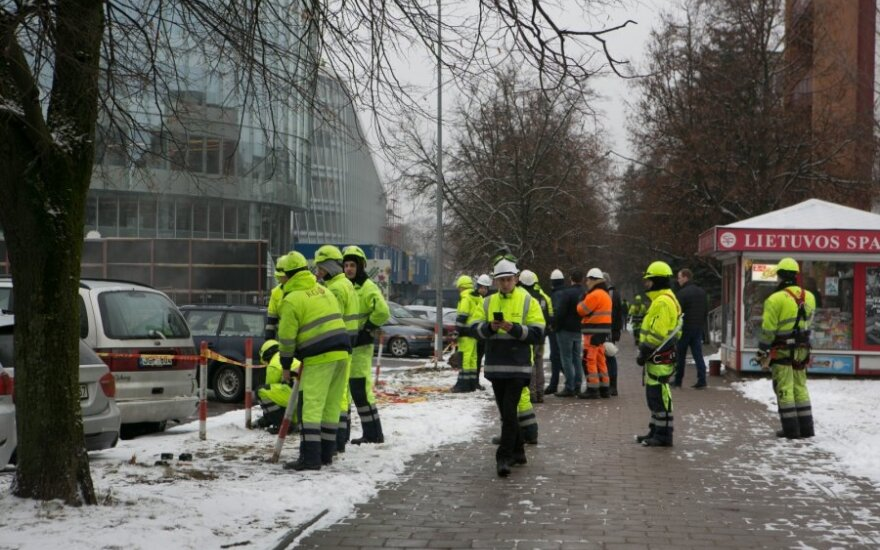 K. Navickas: per avariją Vilniuje visos tarnybos dirbo labai gerai
