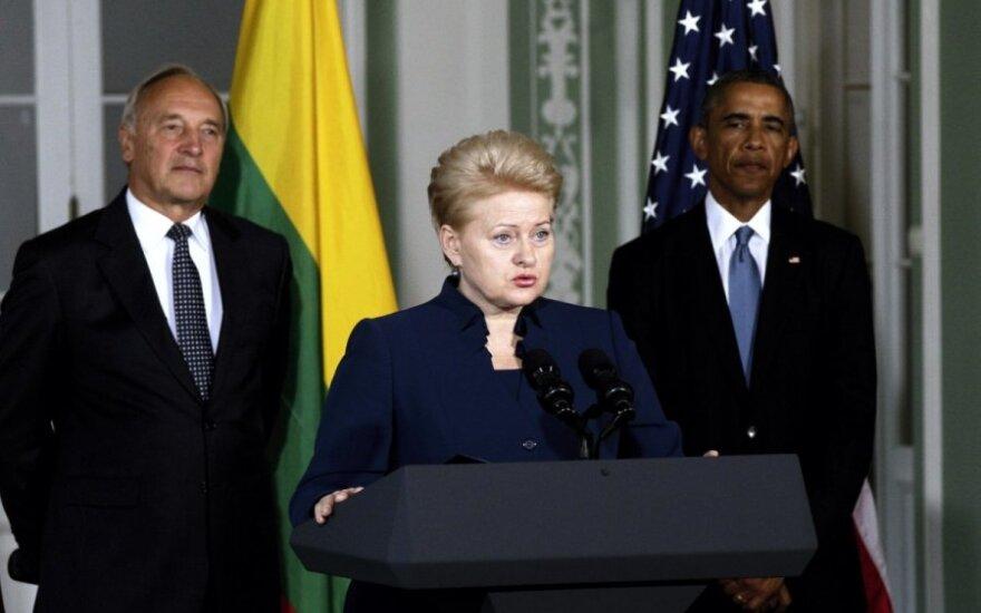 D. Grybauskaitė: tai fronto linija mums visiems