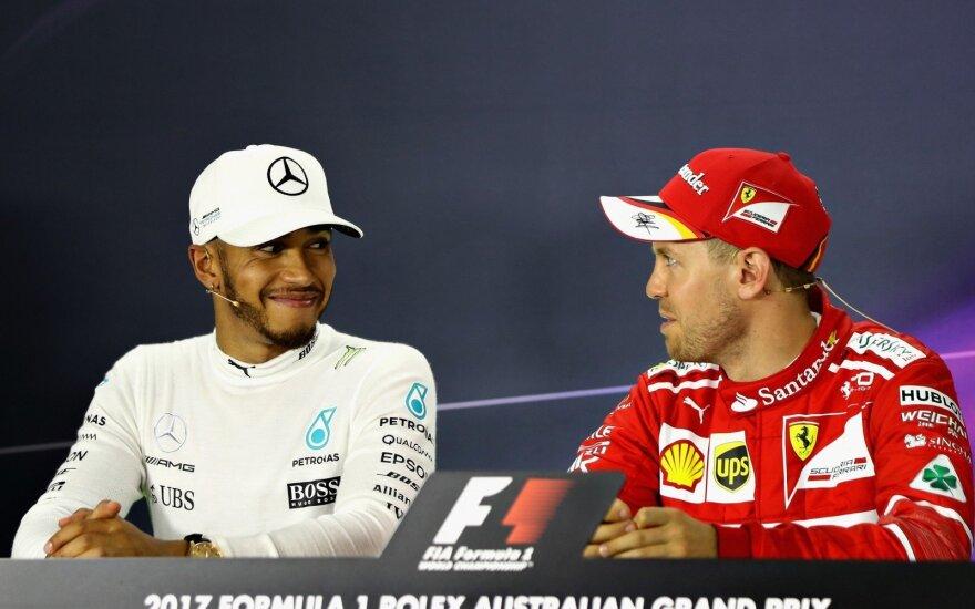 Lewisas Hamiltonas, Sebastianas Vettelis