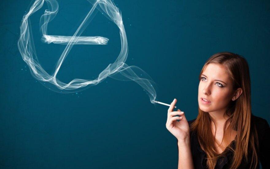 Europa draudžia mėtines ir plonas cigaretes: ar mesime rūkyti?