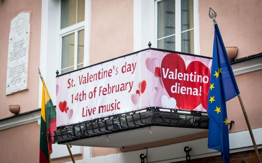 Lithuanians 'most romantic nationality about Valentine's Day'