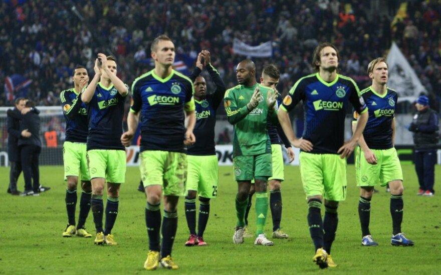 """Amsterdamo """"Ajax"""" futbolininkai"""