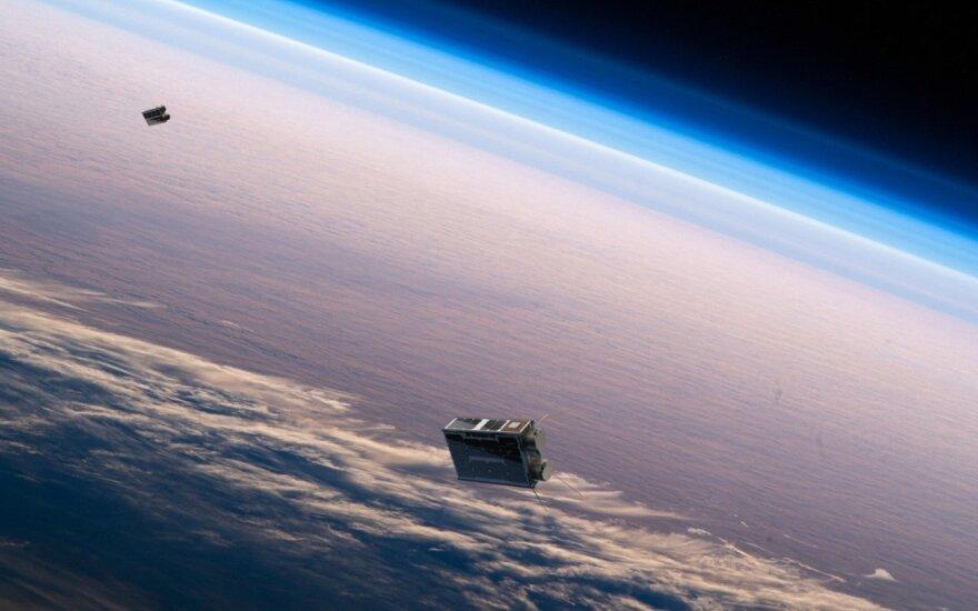 """Lietuvių įmonė """"NanoAvionics"""" paleido jau antrąjį JAV bendrovei skirtą palydovą"""