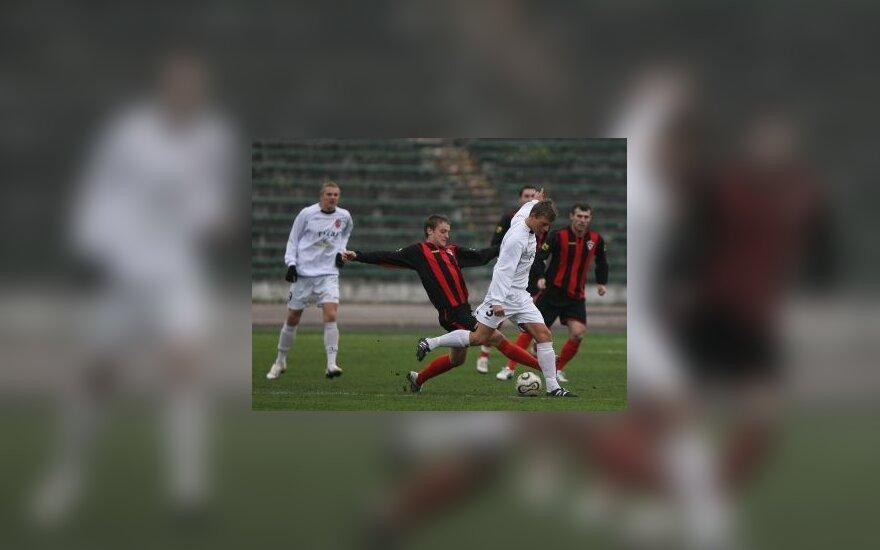 """""""FC Vilnius"""" tikisi sugrįžti į A lygą"""