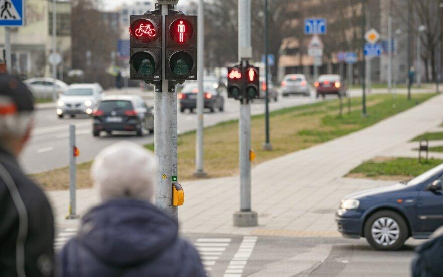 Vilniuje atnaujinta Rinktinės-Žalgirio-Tuskulėnų-Apkasų gatvių sankryža