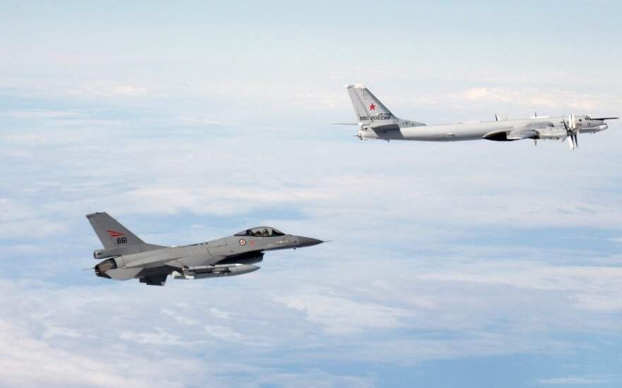 NATO jets scrambled three times to intercept Russian bombers last week