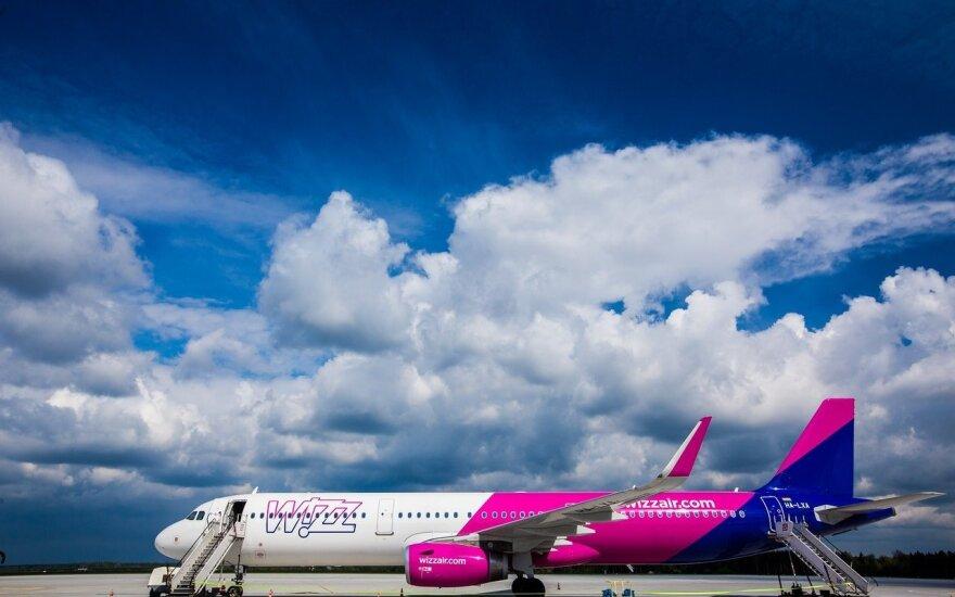 """""""Wizz Air"""" skelbia 24 valandų išpardavimą"""