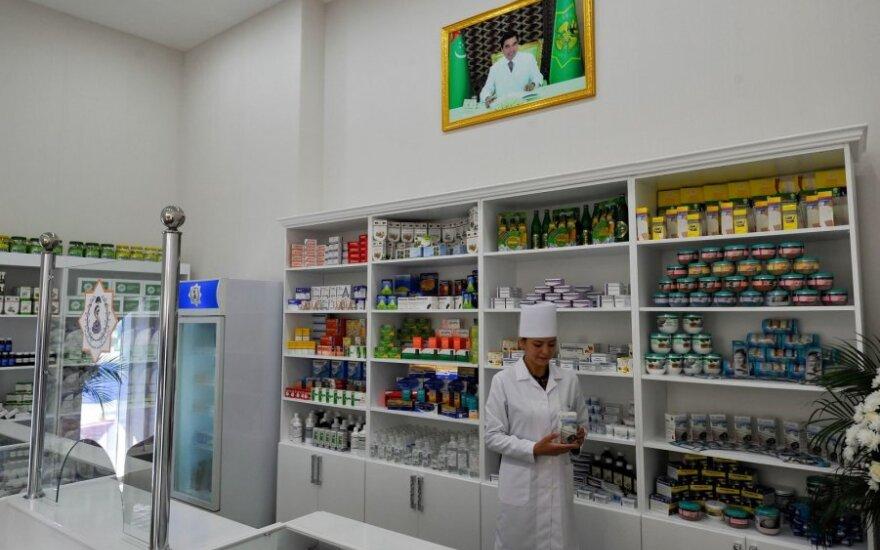Vaistinė Turkmėnistane