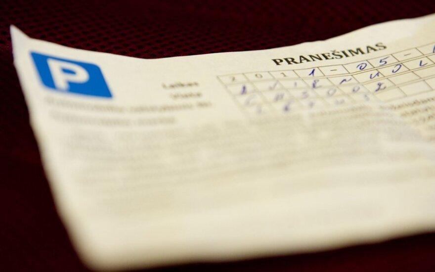 Per dvi dienas Klaipėdoje – 165 protokolai vengiantiems mokėti už automobilio stovėjimą