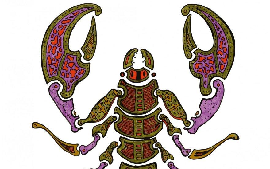 2017 metų karjeros ir finansų horoskopas gimusiems po Skorpiono ženklu
