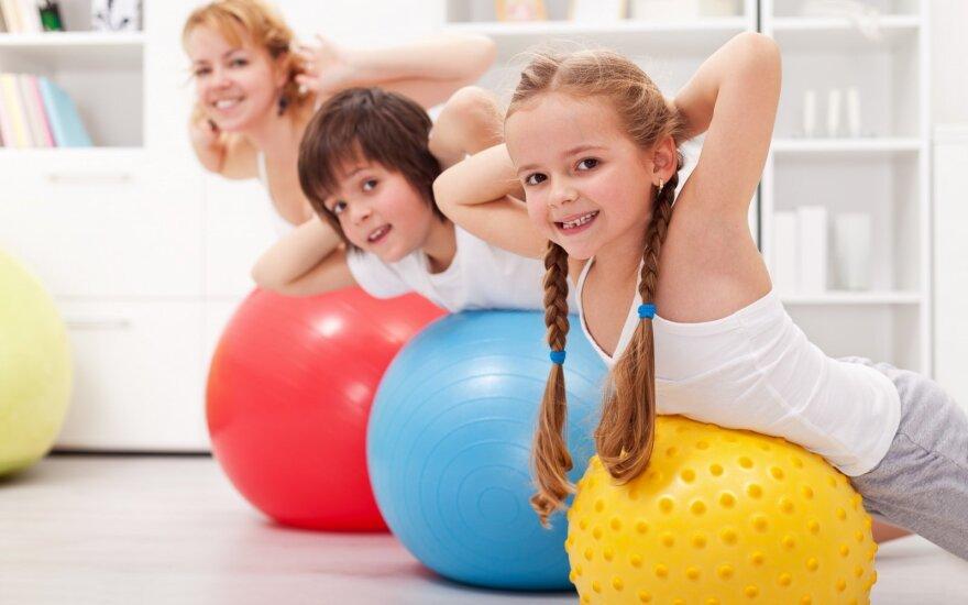 D. Vištartaitė: vaikai pirmiausia turi suprasti, kodėl reikia sportuoti