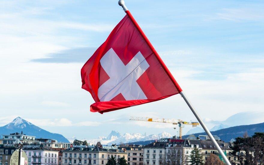 Šveicarija traukiasi iš derybų su ES dėl bendradarbiavimo susitarimo