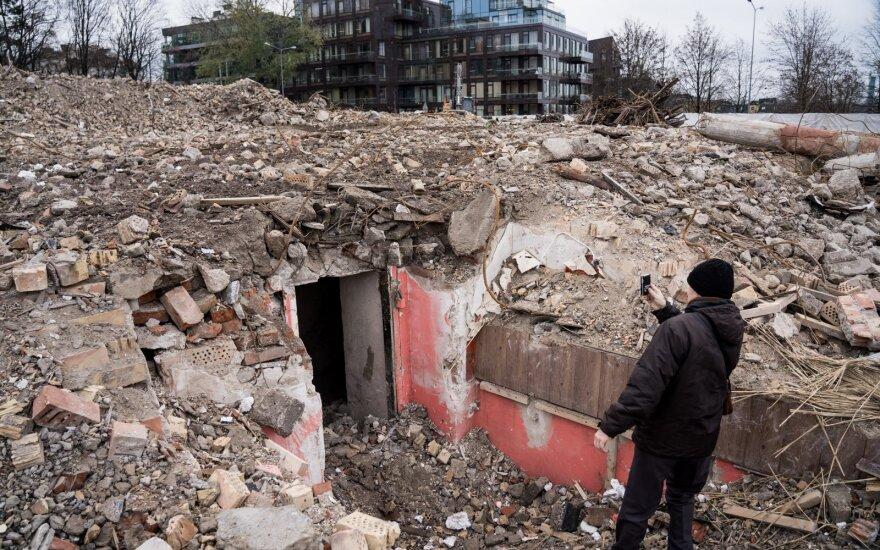 Gyvenimui po žeme buvo pasiruošę ir naciai: išskirtinį bunkerį įrengė didingiausioje Vilniaus vietoje