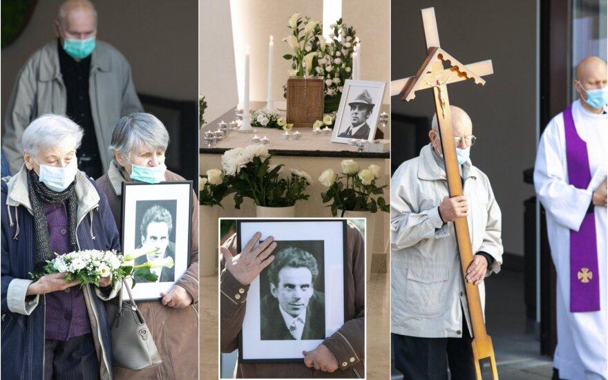 Petro Dimšos laidotuvės