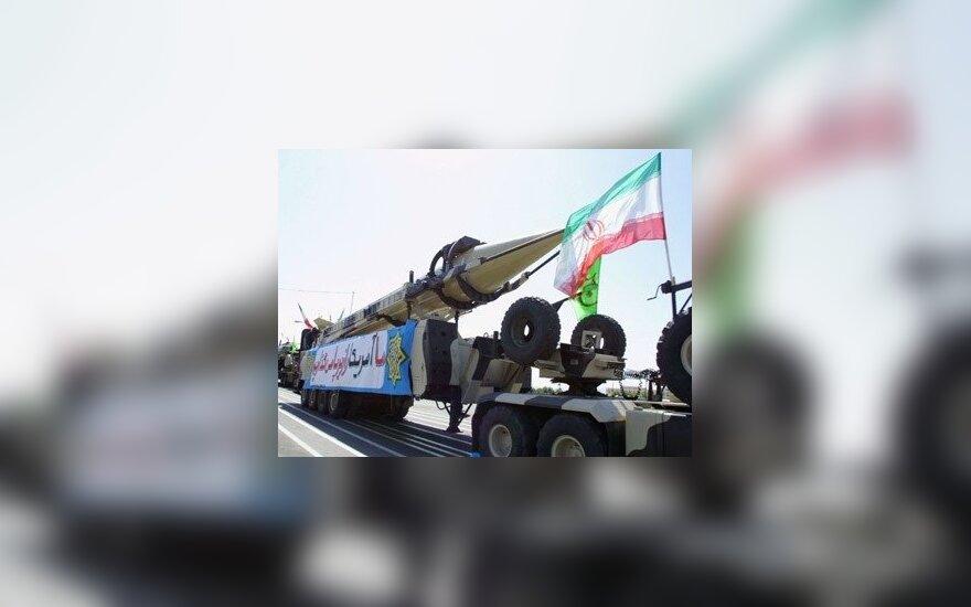 "Irano balistinė raketa ""Shahab-3"""