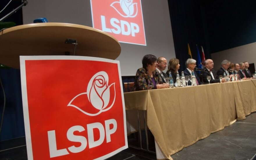 Lietuvos socialdemokratų partija (LSDP) - reitingų lyderė