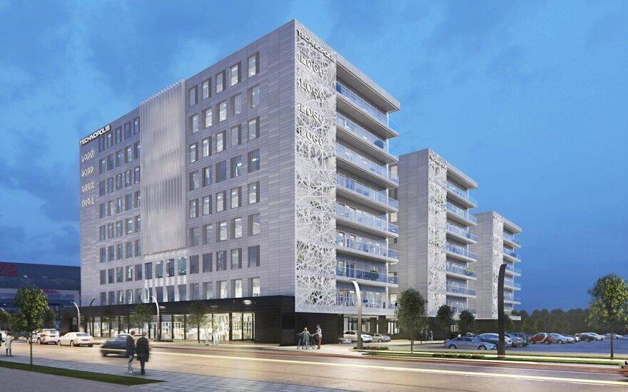 """""""Technopolis"""" į """"Nova"""" pastatą investuos 52 mln. eurų"""