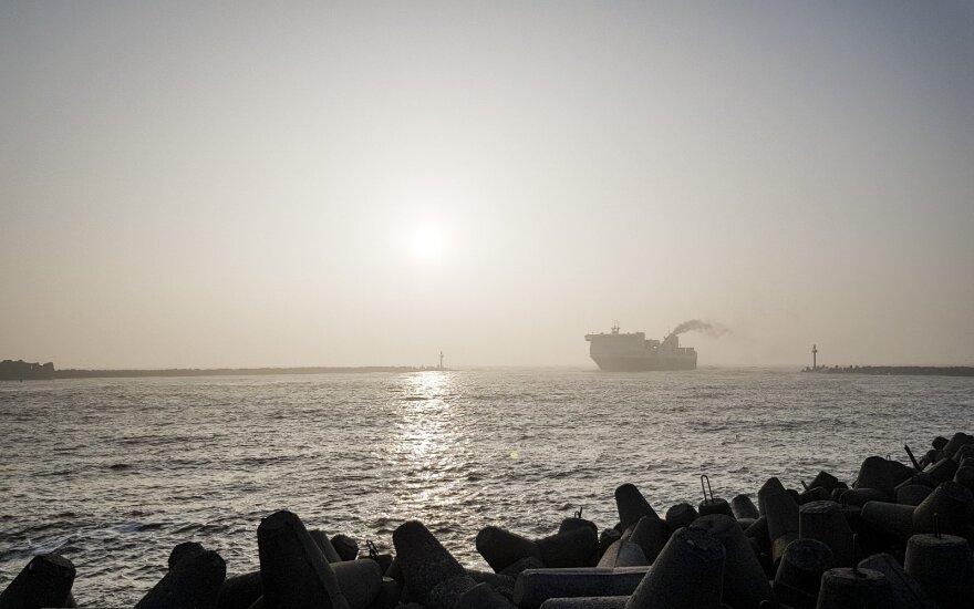 Klaipėdos uostas į Kuršių marias leido nuotekas su gyvsidabriu