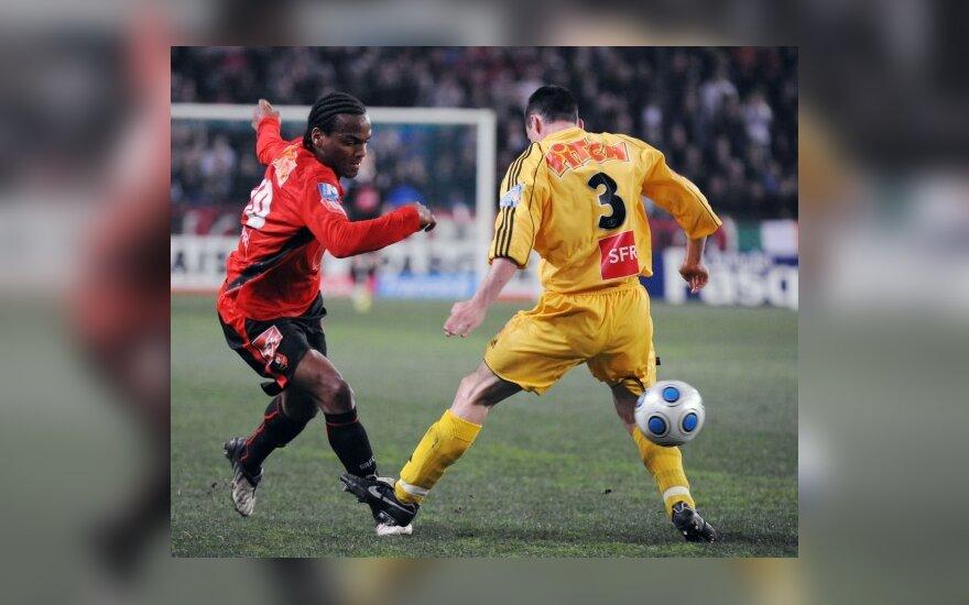 """""""Rennes"""" ir """"Grenoble"""" - Prancūzijos taurės varžybų pusfinalyje"""