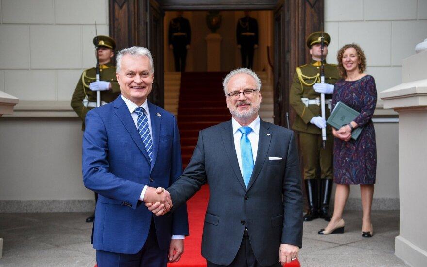 Lietuvos ir Latvijos prezidentai žada išspręsti seniausią tarpusavio ginčą