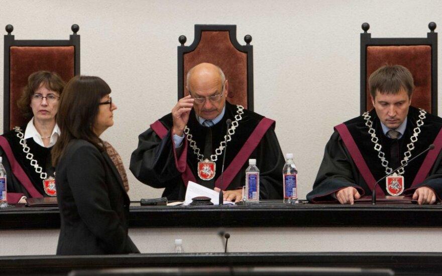 E. Baltutytė, V. Greičius ir D. Jočienė paskirti KT teisėjais