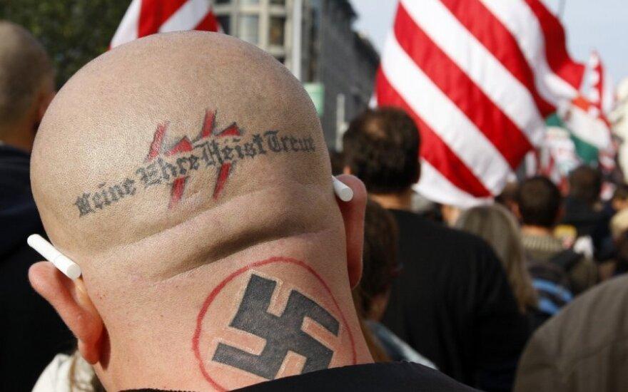 Vokietijos neonaciai šturmuos Briuselį
