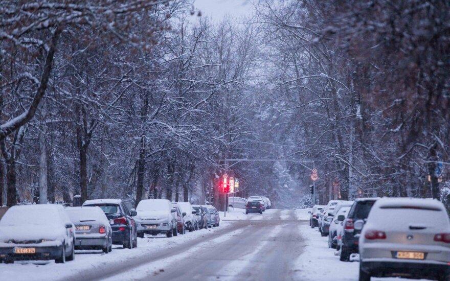Orai: trumpam sugrįš žiemiški orai