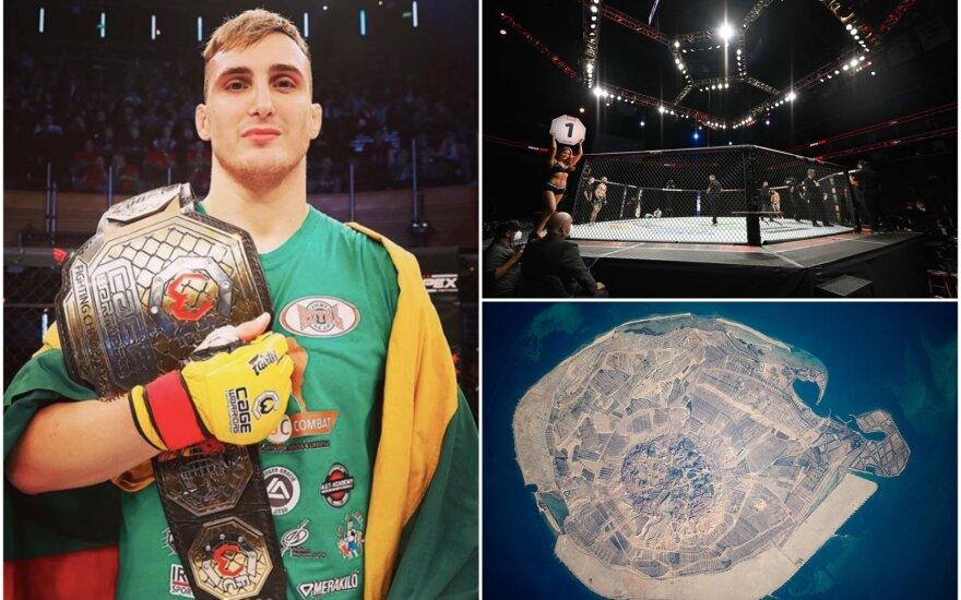 Modestas Bukauskas UFC aštuonkampyje turėtų debiutuoti Jaso saloje (Foto: Instagram, Shutterstock)