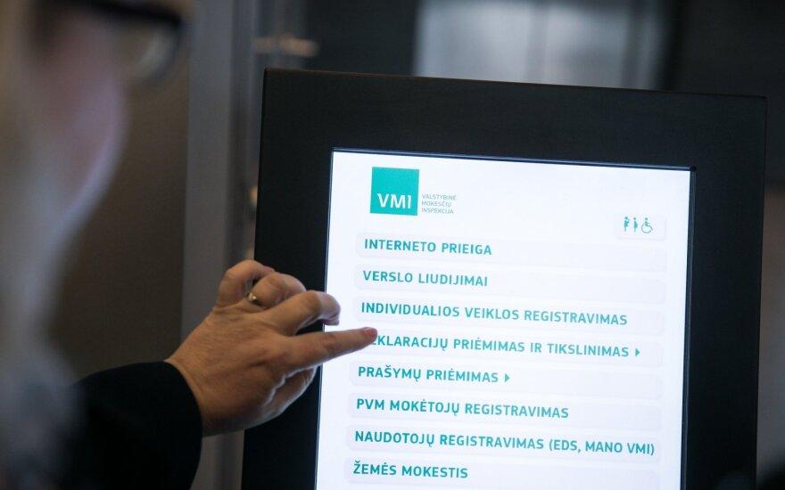VMI iki gegužės 4 dienos laukia turto deklaracijų