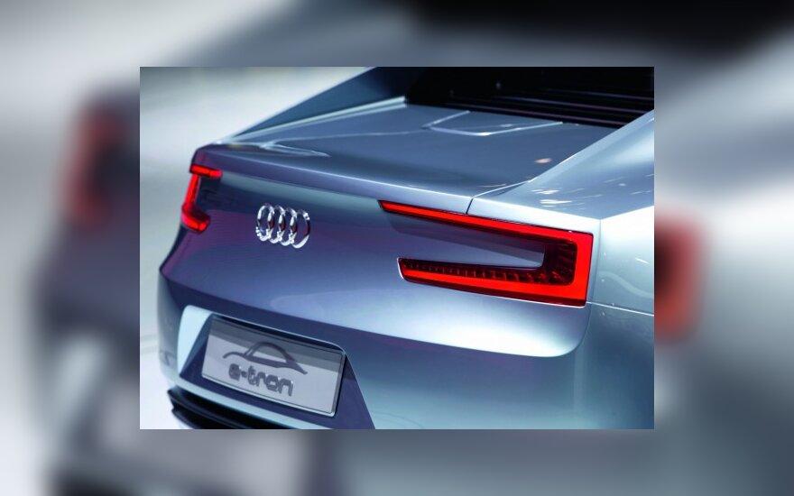 """""""Audi"""" nori būti prestižinių elektromobilių lyderiu"""