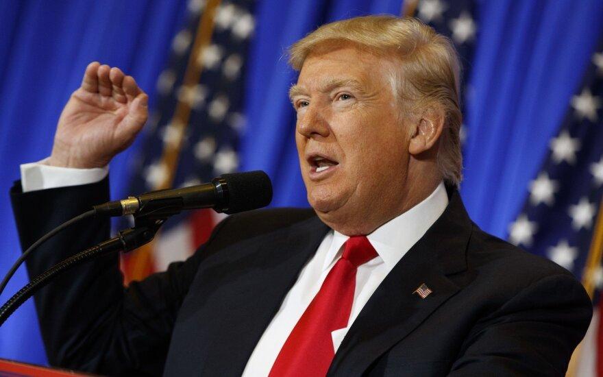 Po D. Trumpo spaudos konferencijos pigo sveikatos apsaugos ir biotechnologijų bendrovių akcijos