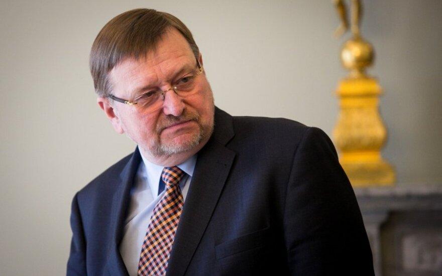 Justice Minister Juozas Bernatonis
