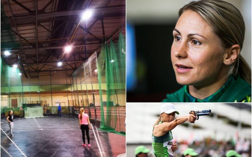 Vilniaus lengvosios atletikos maniežas, Laura Asadauskaitė-Zadneprovskienė
