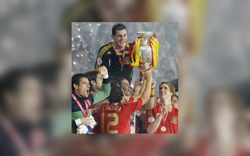 Ispanijos futbolininkai - 2008 m. Europos čempionai