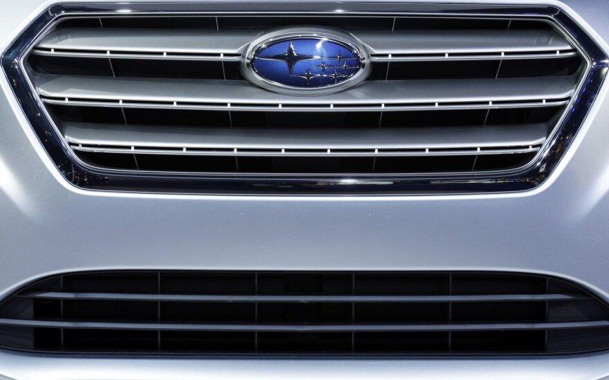 """Futuristinės naujienos """"Subaru"""" gerbėjams"""