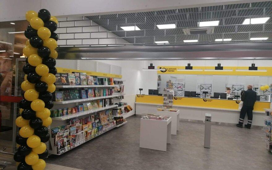 Vilniuje atidarytas dar vienas modernus pašto skyrius