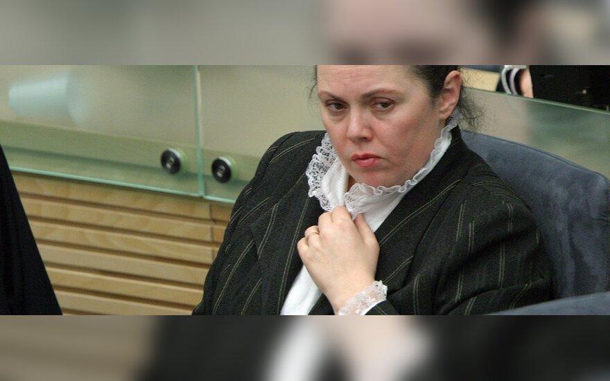 Dėl šilumos punktų A.Stancikienė kreipėsi į ministrą