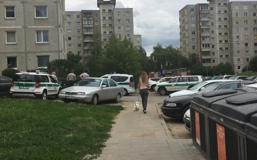 Vaikų žaidimai Kaune vos nesibaigė tragedija