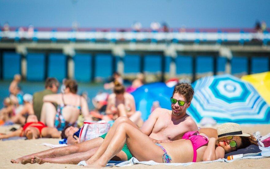 Pavargusiems nuo karščio – blogos žinios: netrukus bus tiesiog pragariškai karšta